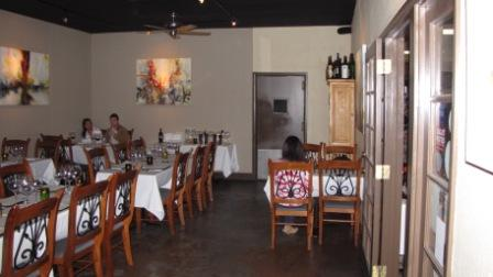 Dining room at Atlas Bistro Scottsdale Az