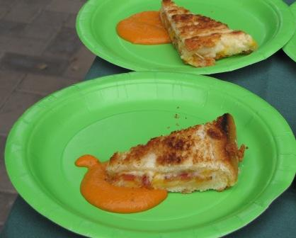 Parc Central's Grill Cheese Throwdown Entrant